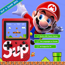 🎮Sup X Game Box 🎮 Retro Handheld Game Console Emulator🎮 Built-in 400 Classic Games Can Play on TV