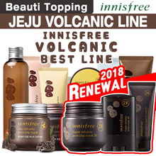 ★ Qoo10 LOWEST PRICE ★ {INNISFREE} JEJU VOLCANIC COLLECTION / Pore Clay Mask [Beauti Topping]
