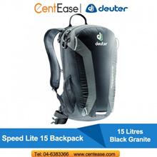 Deuter Speed Lite 15 Backpack- Black Granite