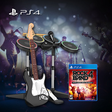 PS4 Rock Band 4 Band In-A-Box Bundle