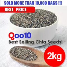***2.0 KG BEST VALUE CHIA SEEDS (1+1+1+1 Packets - 2000 GRAMS) ***