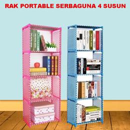 * Free Shipping Jabodetabek * Rak portable serbaguna 5 susun 4ruang
