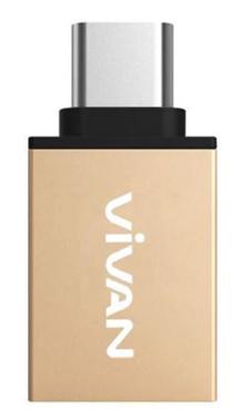 Vivan VOC-C01 USB 3.0 to Type-C Metal OTG Adapter | Garansi Resmi Vivan 1 Tahun