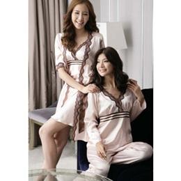 e987586fa9 Pajamas Lady s Room Wear Reidase Nightwear Room Wear Room Satin Pajamas