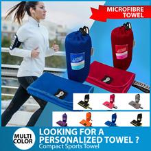 ⏰💪★★Premium Microfibre Towel★★Compact Sports Towel★★Carrier Bag★★Singapore Seller★★Fast Delivery★★