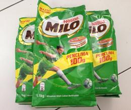 Nestle Milo 1.1kg Milo refill 11kg Milo Malaysia