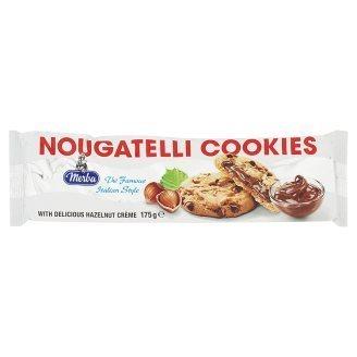 Merba Nougatelli Cookies 175g [Halal Certification]