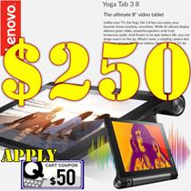 Lenovo|Yoga Tablet 3-8| 2GB +16GB|1 Year Local Warranty