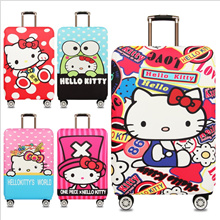 Super Cute Hello Kitty Elastic Luggage Protector Cover / High Quality Luggage Cover