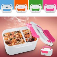 Portable Heating Lunch Box Electric Heating Lunch Bento Box Food Warmer LON