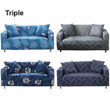 Sofa Cover For Triple Seat Sofa Couch Slipcover Stretch Covers Elastic Fabric + FREE One Pillow Case