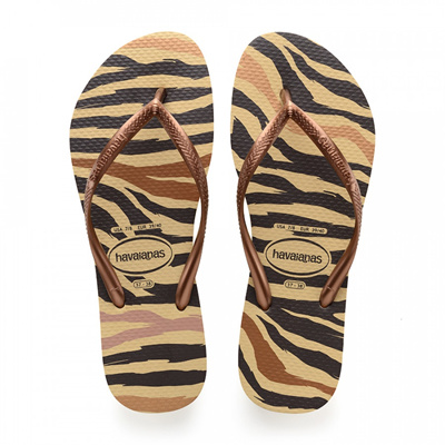9f7373fbb638c Qoo10 - Havaianas Slim Animals Ivory Flip Flop   Shoes