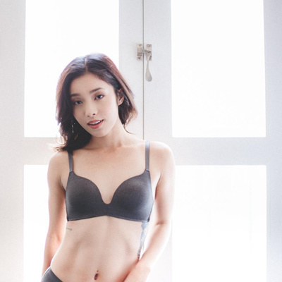 880e717cea5c7 Qoo10 - Seamlessly Perfect Wireless Everyday T-Shirt Bra in Space ...