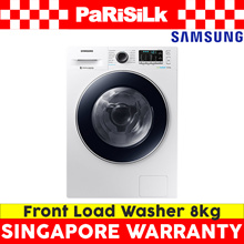 Samsung WW80J54E0BW Front Load Washer4 ticks (8KG) - Singapore Warranty