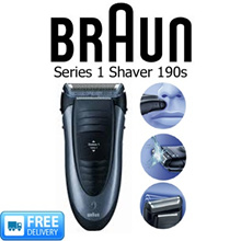 BRAUN - SERIES 1 RECHARGEABLE SHAVER 190s - FREE DELIVERY!