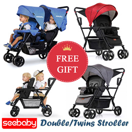 ★New★ Seebaby Double/Twin Strollers Stroller baby carrier