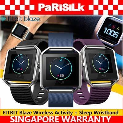 FREE DELIVERY FITBIT Blaze Wireless Activity + Sleep Wristband - SINGAPORE  WARRANTY