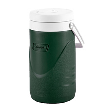 Coleman 1/2 Gallon / 1.9L Polylite Cooler Jug Durable Outdoor Ice Drink Jugs (Green)