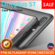 OnePlus 5/5T Full Protection Case 🌟 9H Full Protection Tempered Glass 🌟 Gravity Car Mount