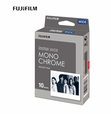 Fujifilm Instax Wide Monochrome Film one pack 10 sheets New