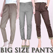 [FLAT PRICE] PLUS SIZE PANTS - BIGSIZE FIT TO XL-XXL / Regular / Jogger / Drawstring / Basic / Stick