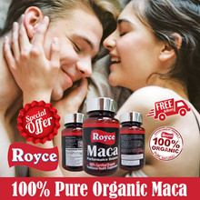 Maca Male Performance - Insist on 100% Pure and Organic Peruvian Magic with no fillers 60 capsules