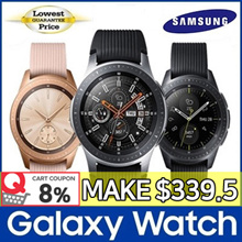 [8% Promo] SAMSUNG Galaxy Watch Smartwatch ★ Bluetooth ★ 42mm / 46mm ★ Wearable Band / Trac