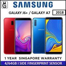 SAMSUNG J6+ 2018 4/64GB / A7 2018 Local 1 Year Warranty By Samsung Singapore