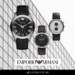 Emporio Armani Men and Women Watches
