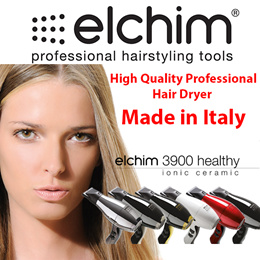 *Made in Italy - 100% Authentic* Elchim Hair Dryers High Quality Professional Salon Hair Dryer Salon
