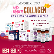 4MTH SUPPLY 💎MixnMatch COLLAGEN💎| Diamond/Diamond Nite//Prowhite/Collagen Men/BG 32s+32s