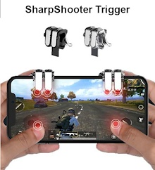 ❤SG Seller❤ PUBG 6 Finger Secret Weapon ❤ Mobile Phone Gaming Trigger Fire Button Aim Key L1 R1