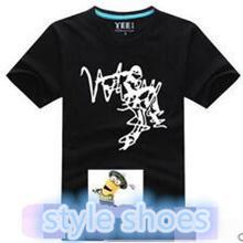 Where blouse summer new short-sleeved t-shirt men hip-hop hip-hop tide big  yards loose cotton df8ad8c97