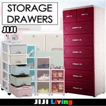 DRAWERS CABINET! ★Storage ★Organizer ★Bedside Table ★Furniture ★Box ★Plastic ★Wood