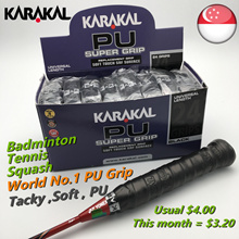 Badminton Grip Karakal PU World No.1 PU Grip Made in England $3.20