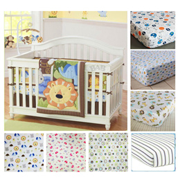 Cute baby bedding crib cot sheet/ bedsheet/ Mattress cover/ Caters