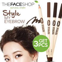 [BUY GET 3PCS] The Face Shop Lovely Me:ex Style My Eyebrow (Wood) 100% ORIGINAL