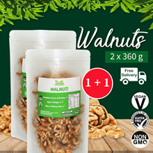 ☆ Value Bundle 1+1 ☆ Walnuts [350g] x2 ~ FREE SHIPPING