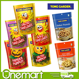 [TONG GARDEN] FAMILY FAVOURITE SNACKS ★ SUNFLOWER/PUMPKIN SEEDS/BROAD BEANS/SALTED PEANUTS ★