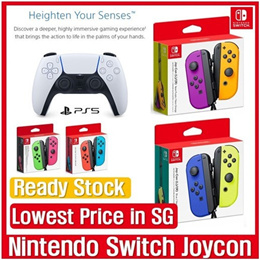 [Lowest Price] Nintendo Joycon / Sony Ps5 Dualsense / Ready Stock