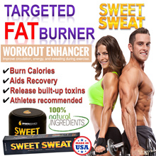 Exclusive ★Fat burner Workout Enhancer★ Sweet Sweat:Thermogenic Body Sculpting/Slimming Cream/Weight Cutting. No Diet. Gd for Bicycle bike sports. Stock in Singapore.