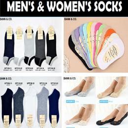 ★SALE!! ALL BELOW $1★ Socks (Men/Women) Bamboo Fibre / Boat / Korean / Lace / Ankle / Anti Bacteria