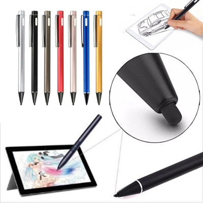 Active Capacitive Screen Stylus Fine Point For iPad Tablet PC Mobile Phone eBook