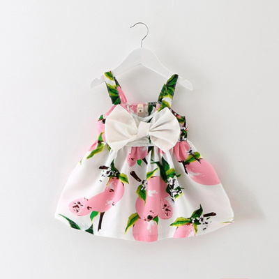 1d4bcb626ed Qoo10 - Summer is one year old baby girl dress 6-9 months baby ...