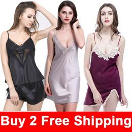 652ccf6e05 Buy 2 Free Shipping  Women Pajamas Set  Girl Sleepwear  women lingerie cute
