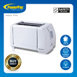 PowerPac 2 Slice Pop-up Bread Toaster (PPT02)