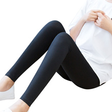 Plus velvet padded leggings women wear high waist winter new black warm feet pencil Korean pants