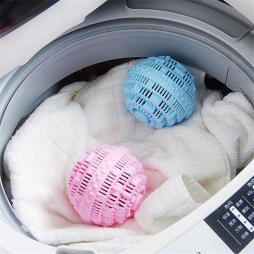 Qoo10 Online Eco Friendly Washzilla Laundry Ball Reusable Anion