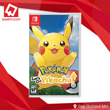 Switch Pokemon Lets Go Standard Edition // Choose Eevee or Pikachu! //