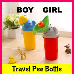 Portable Travel Urinal for Kids★Car Potty Leakproof Pee Bottle★Girls Boys Toddler Baby